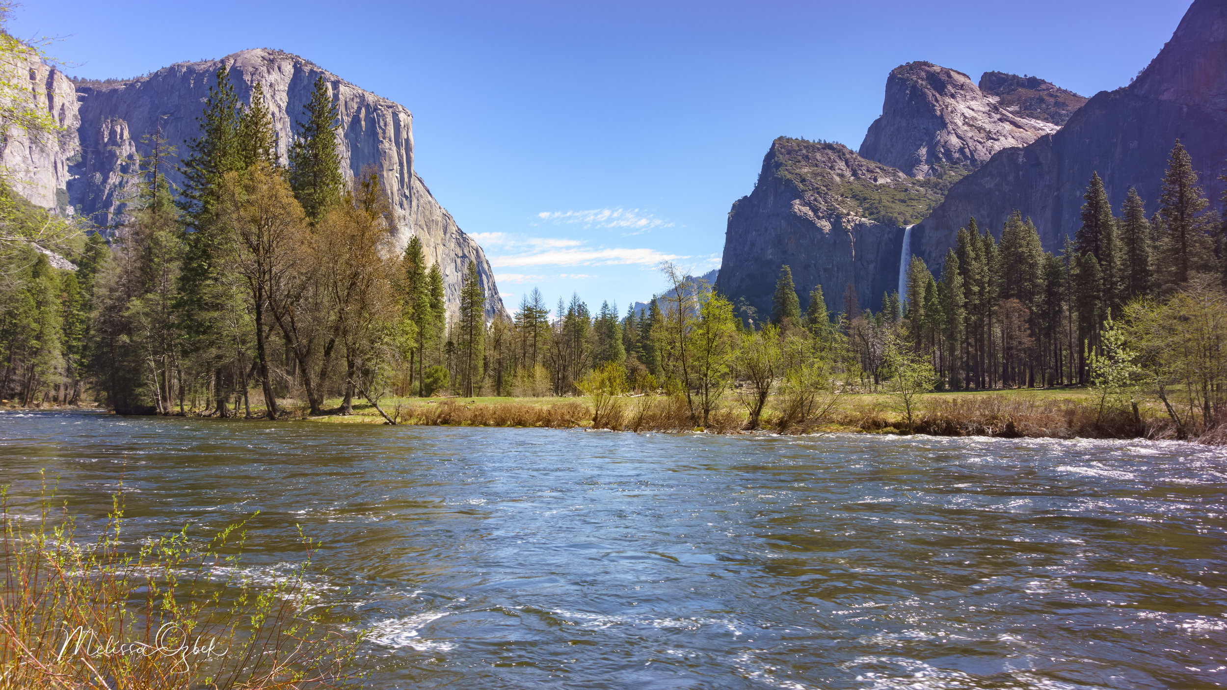 Valley View and the Merced River.