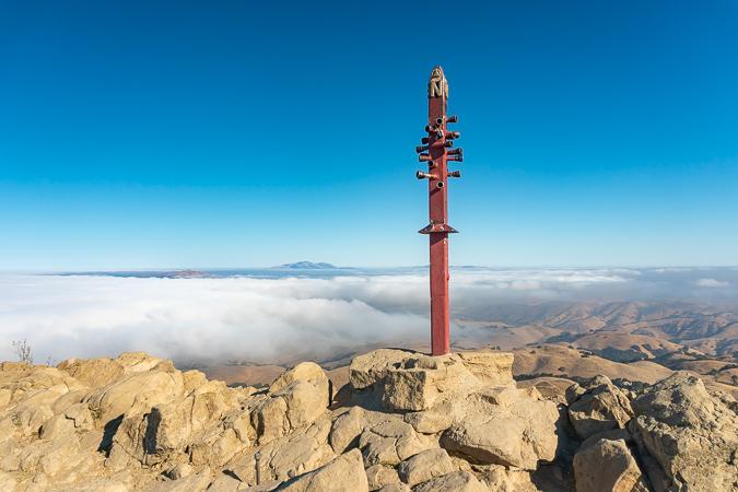 The false summit of Mission Peak