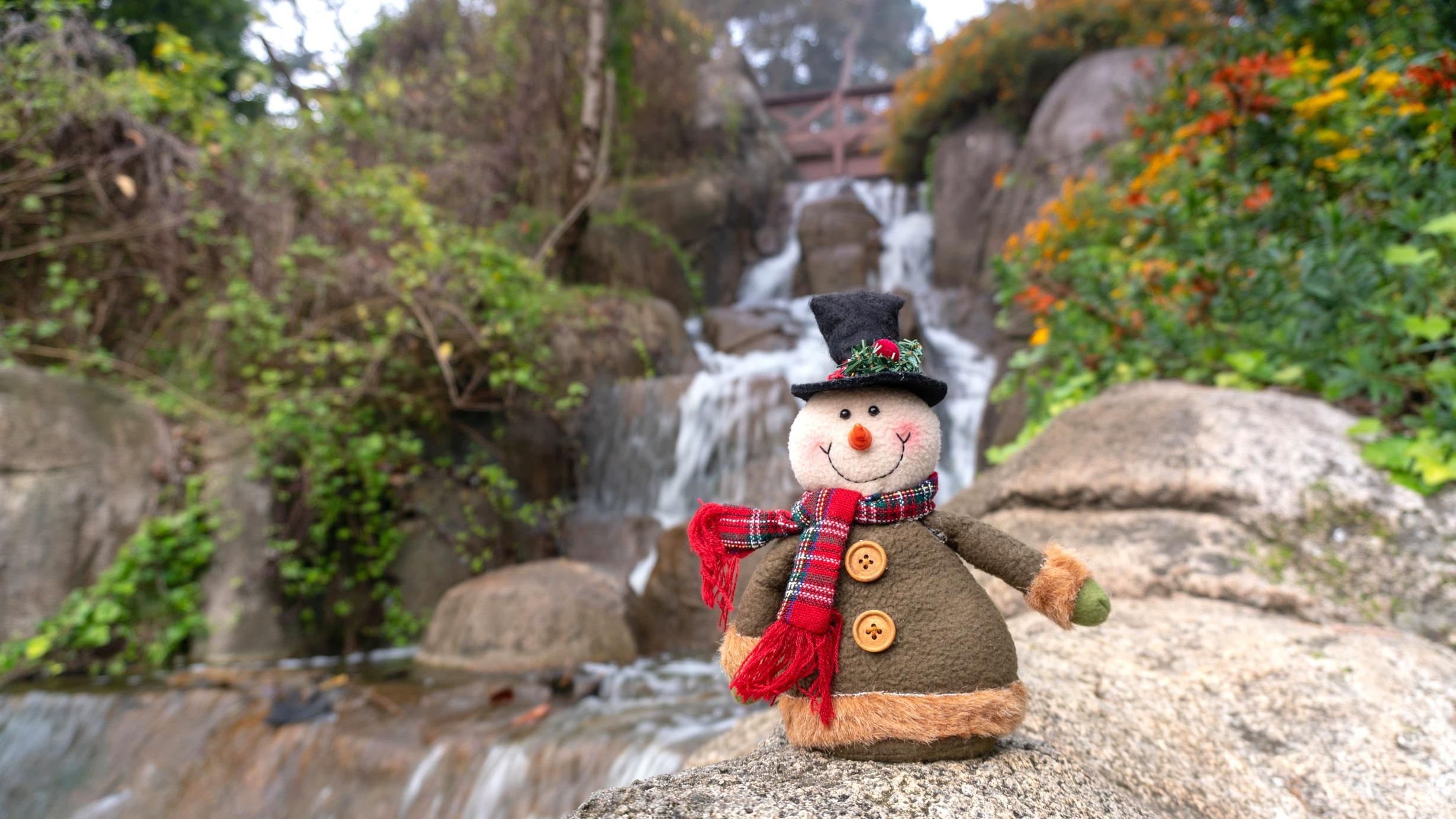 frosty at huntington falls