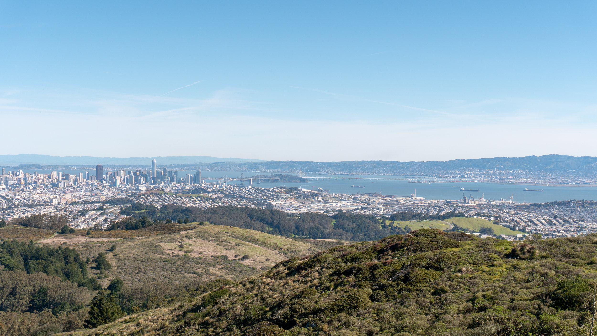 2. San Bruno Mountain Summit Loop (San Francisco)