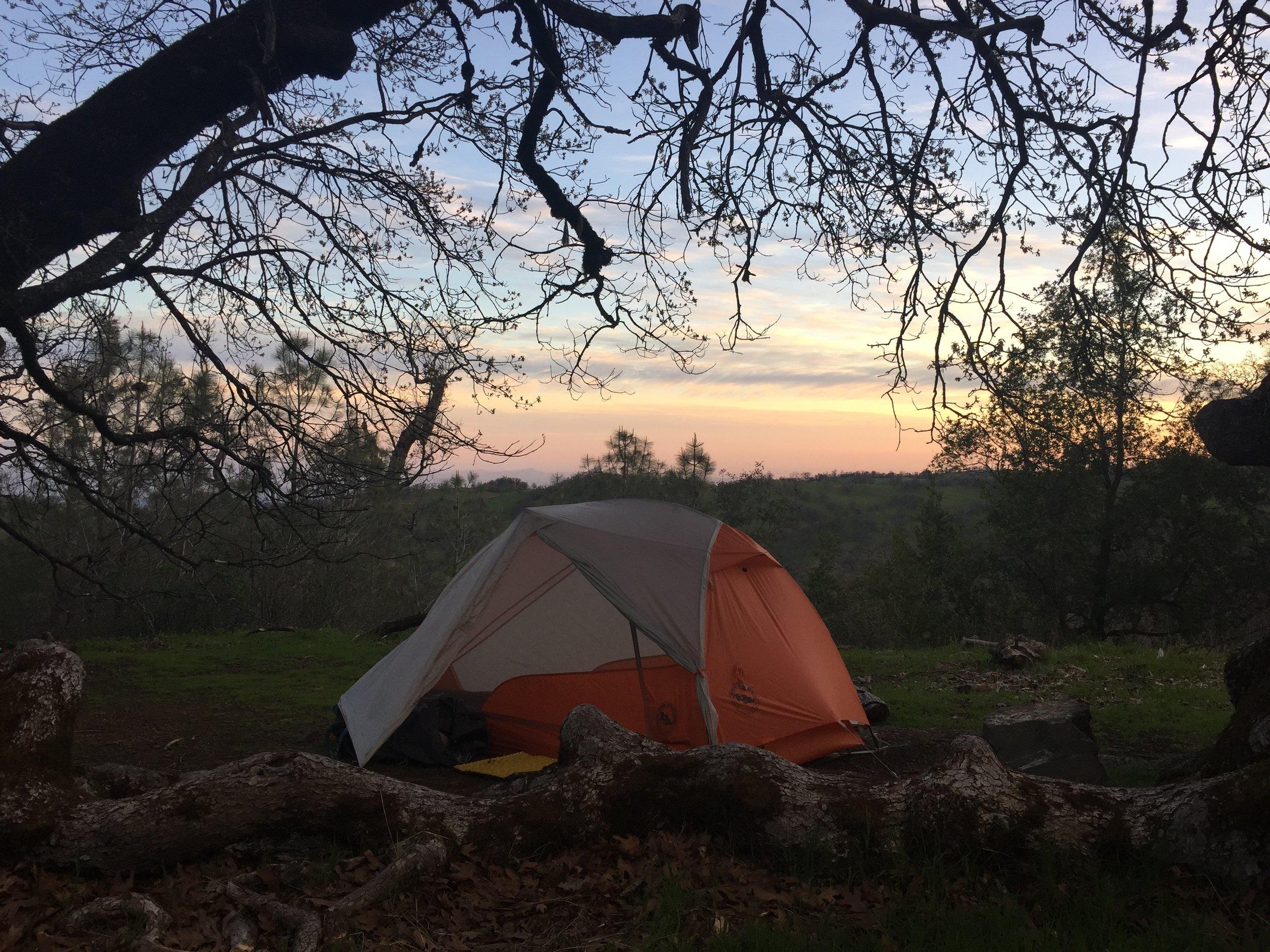 Sunrise at Maggie's Half Acre