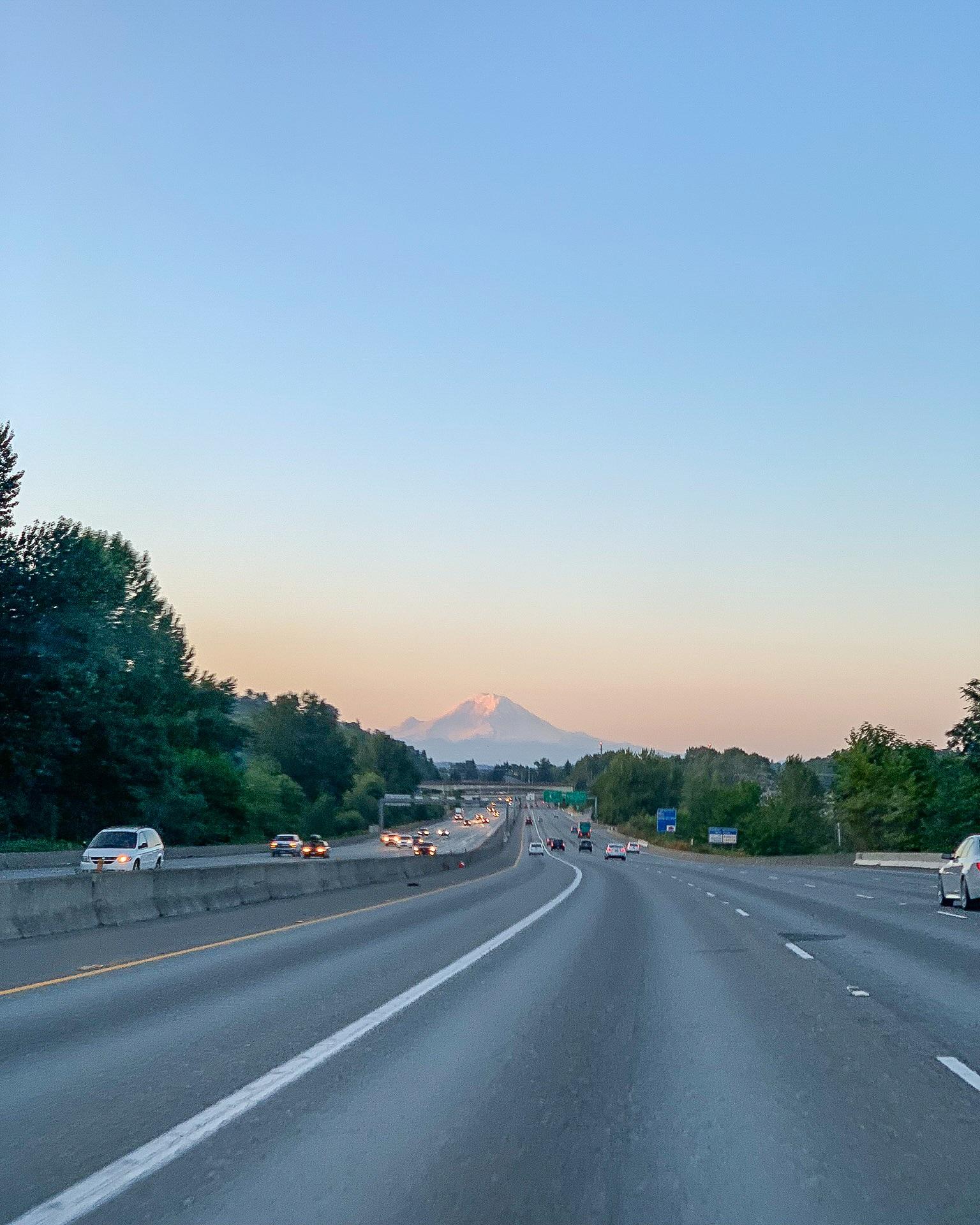 driving to trailhead