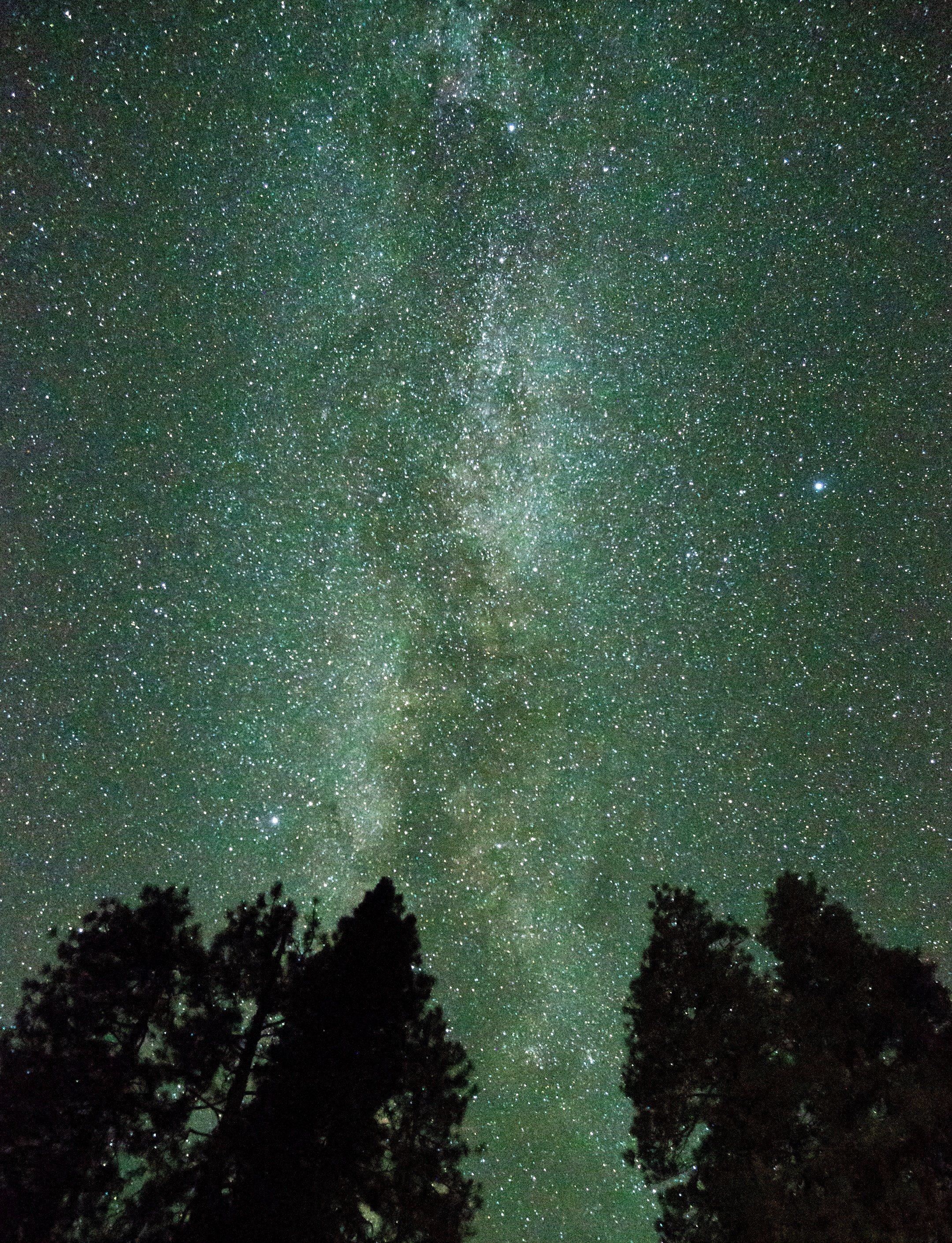 Milky Way in Yosemite Valley, August 30, 2019