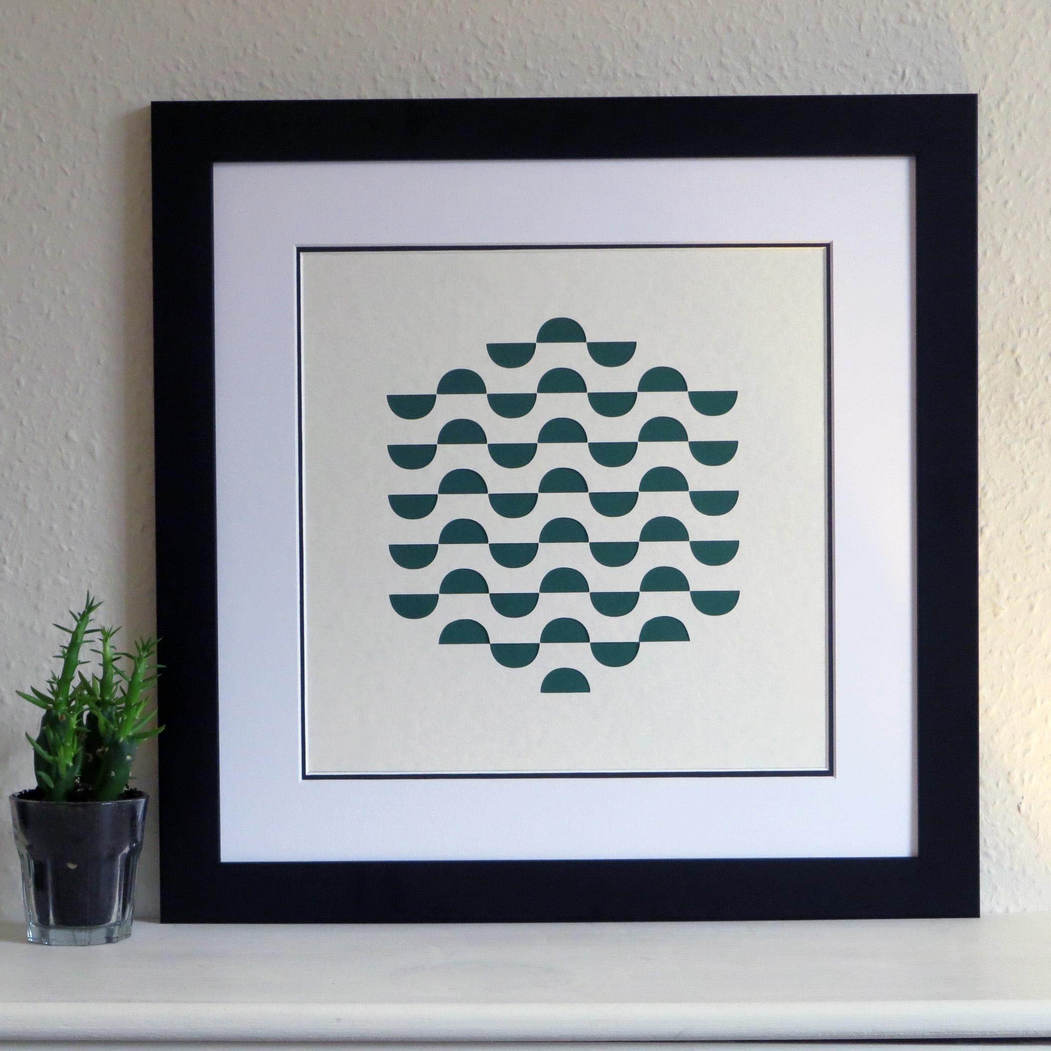 Papercut Commission framed
