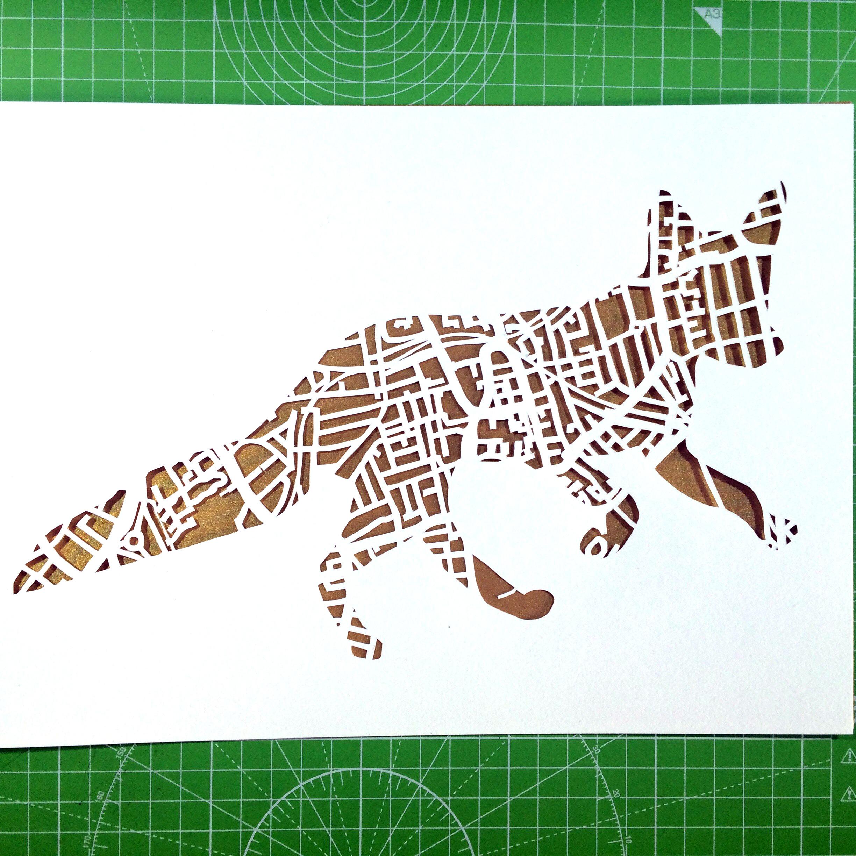 Peckham Fox Gold - Kartegraphik - Paper Cutting.jpg