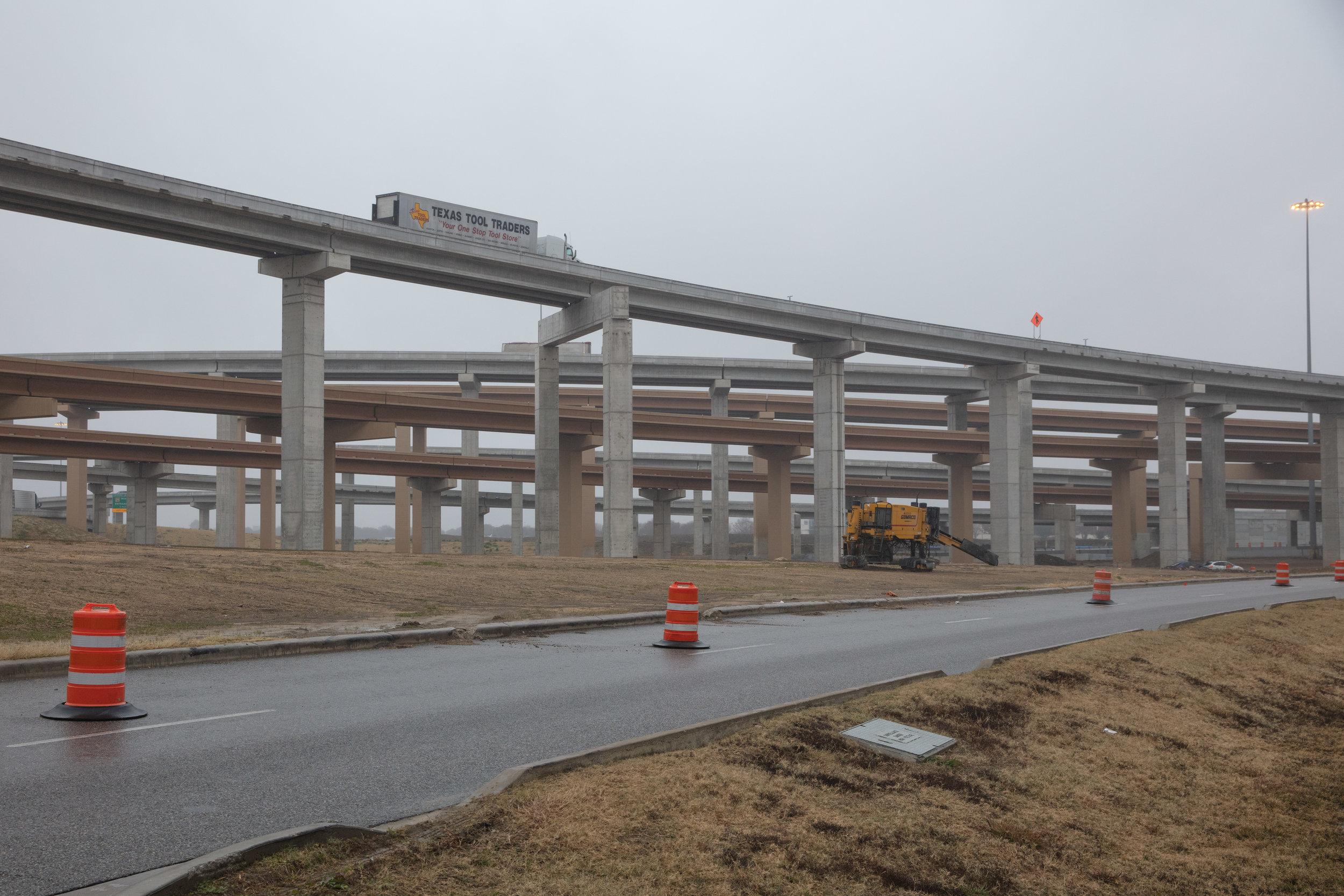 West Interstate 35 & Interstate 820  Fort Worth, Texas (2017)