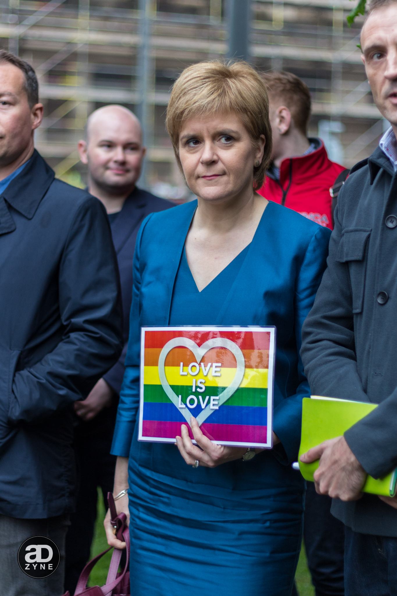 Nicola Sturgeon - Edinburgh Stands with Orlando