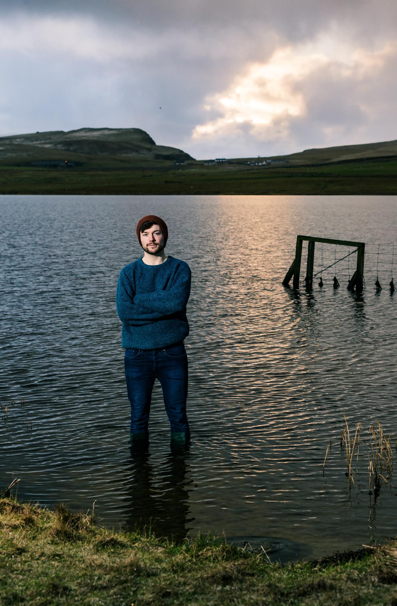 Jack in Shetland