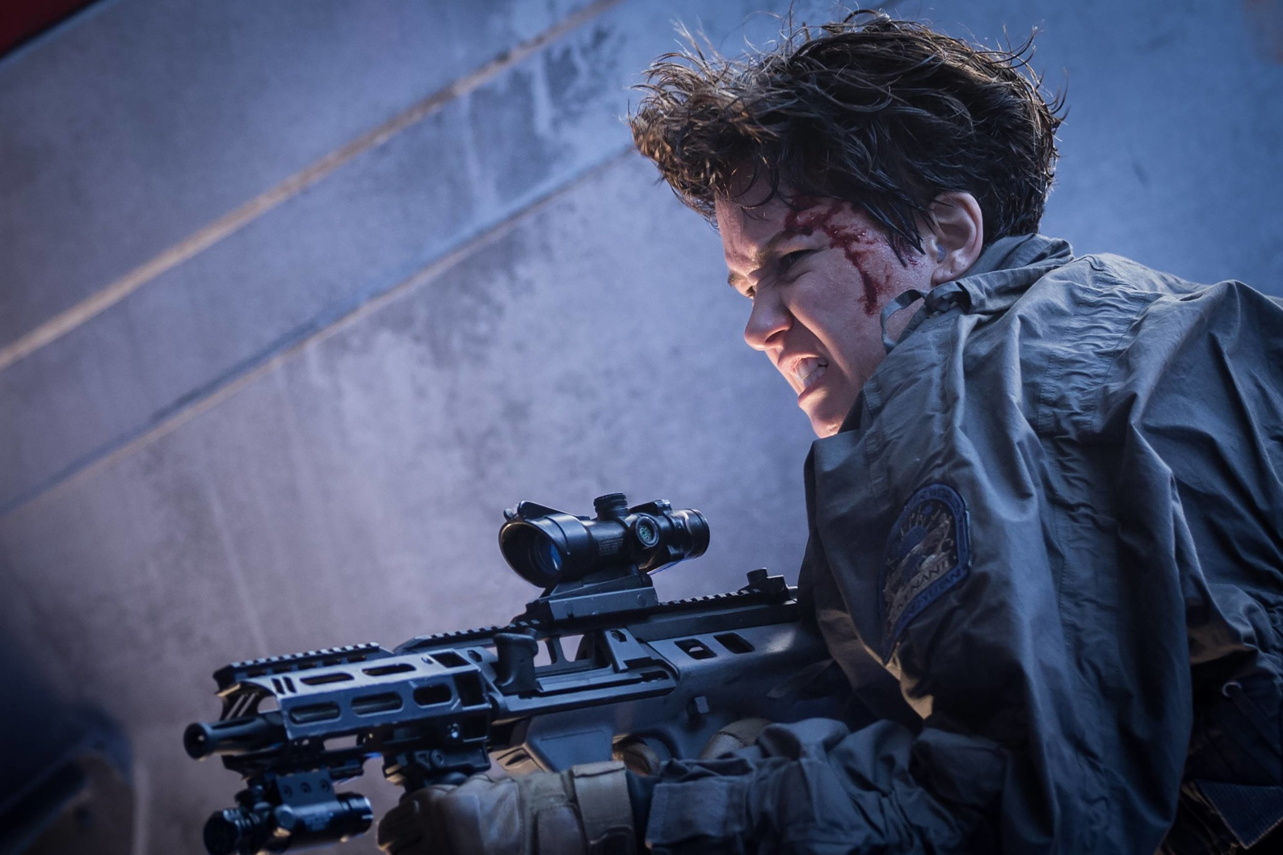 Katherine Waterston takes on nasty intergalactic creatures in 'Alien: Covenant.' (Photo: Mark Rogers)