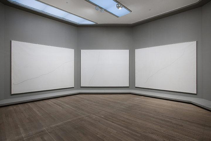 Pintura sobre fons blanc per a cel·la d'un solitari I, II, III - Joan Miró (1968)