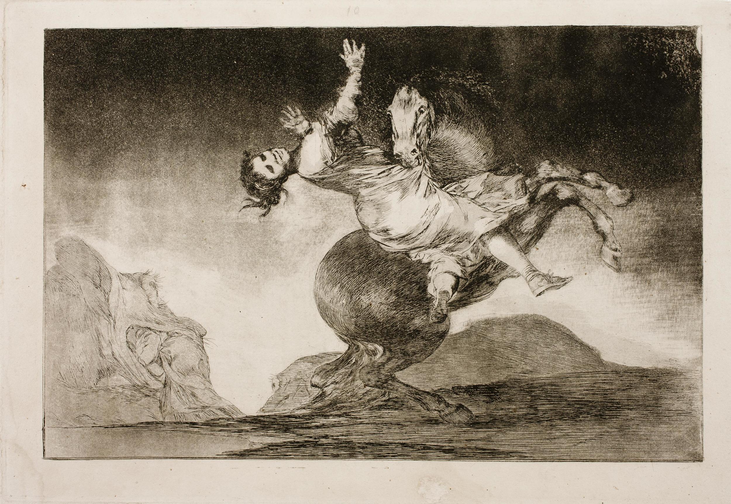El Caballo Raptor - Goya