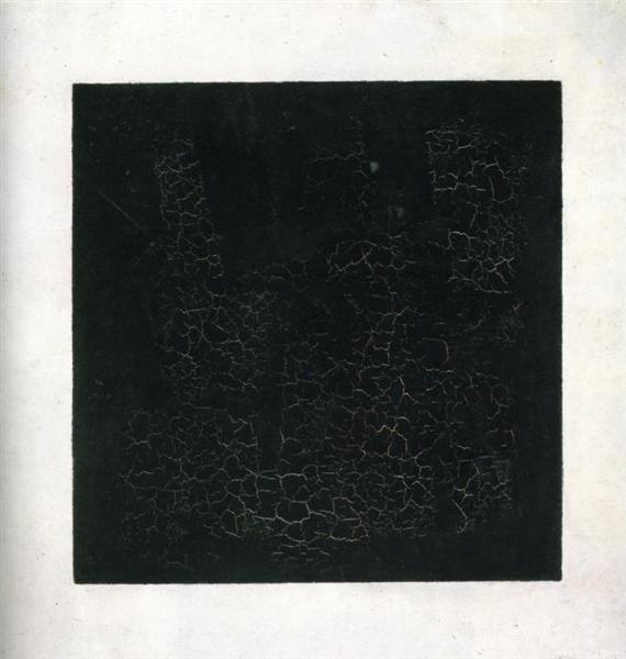 Black Suprematism Square - K. Malevich, 1915