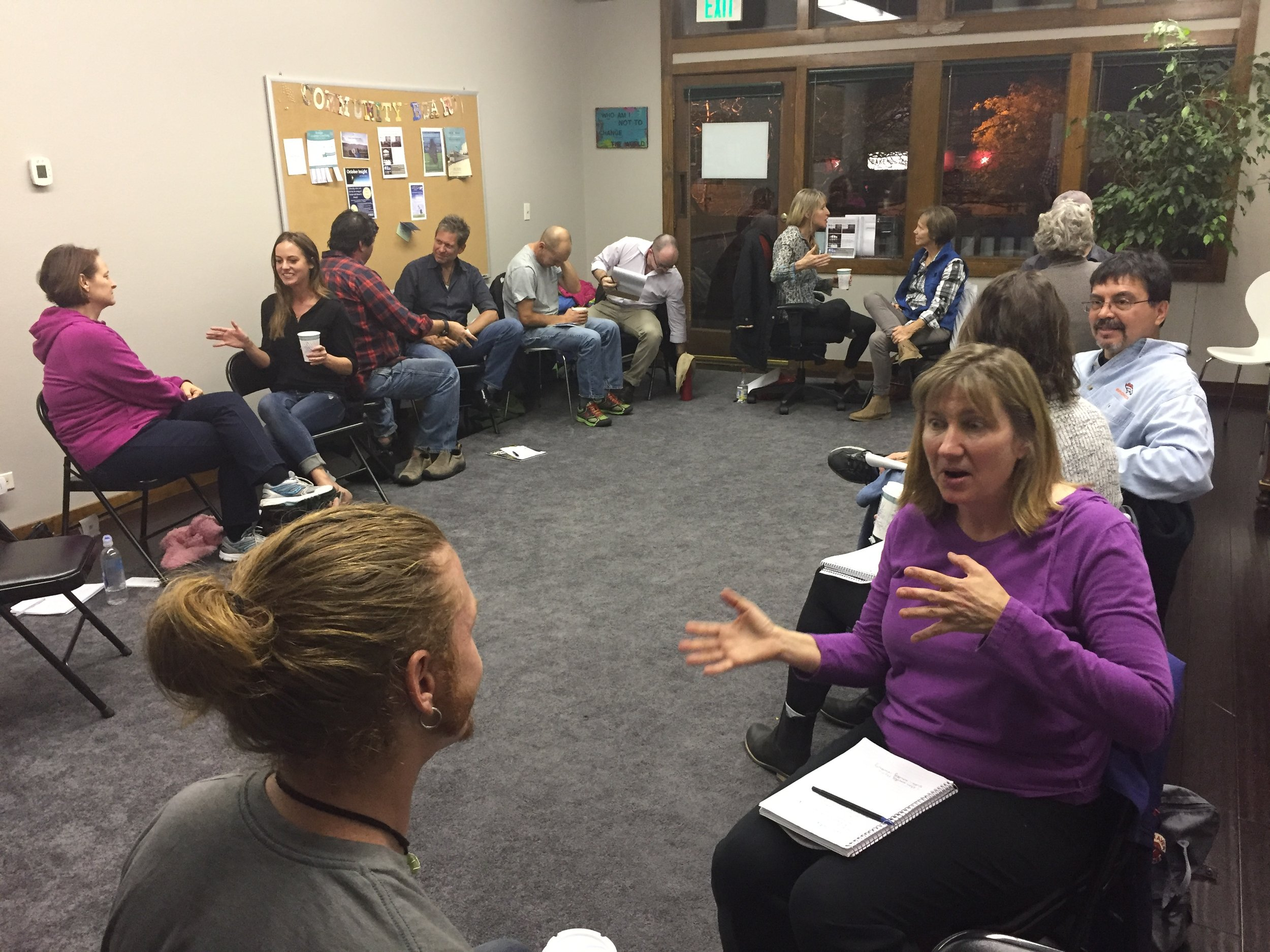 Workshop offered in Boulder, CO called Moving Through Emotions: A Path to Freedom
