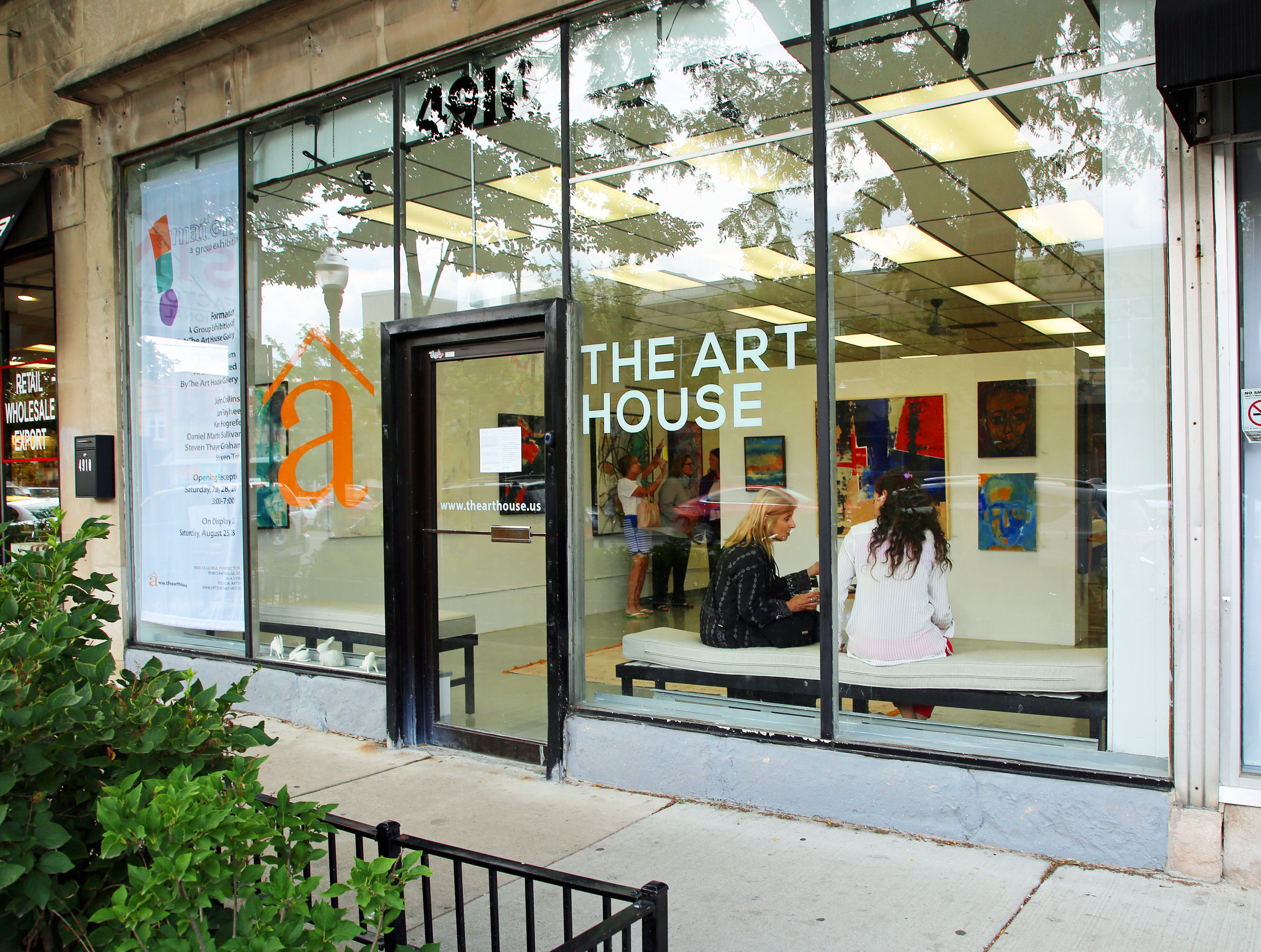 The Art House Studio Gallery Located at 4910 W Irving Park Rd in Chicago