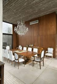 2 - wood wall in dining room