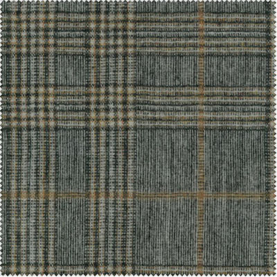 Plaid-Blended-Woolen-Fabric-010014-