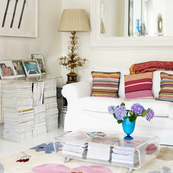 magazine storage, house to home