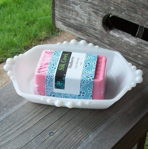 milk glass soap dish - il_570xN.134804342