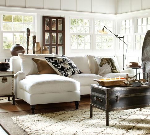 Pottery Barn - layered rugs - img37b