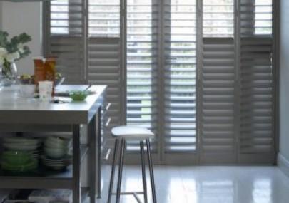 gray shutters - Window-Coverings-for-Sliding-Glass-Doors