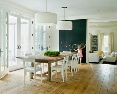old wood floors in a dining room - 6942723fde47