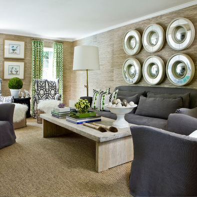 sisal area rug adds to the textural feel of this space - 1381344_9372-w394-h394-b0-p0--contemporary-living-room