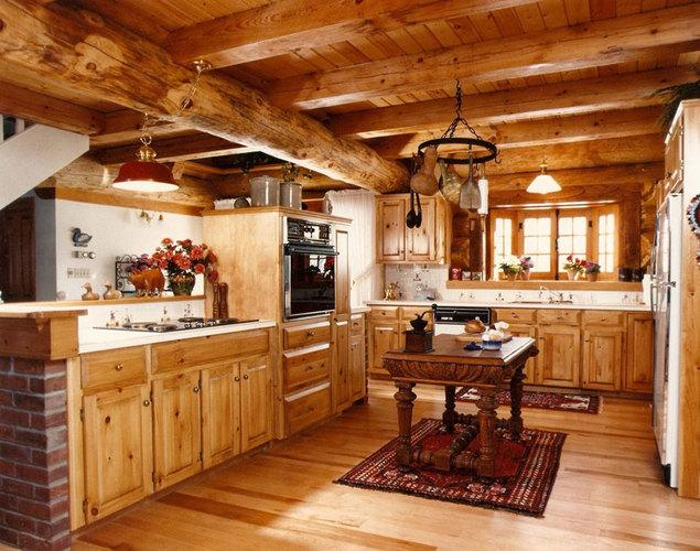 all-wood-kitchen