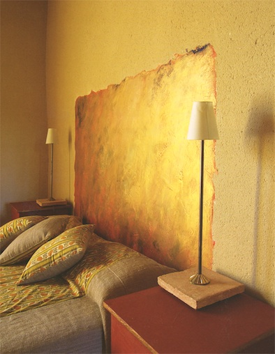 headboard-on-wall-gold