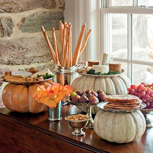 Pumpkin-Halloween-Living-Room-Decorating-Ideas