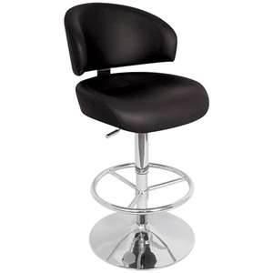 leather bar stool - comfortable