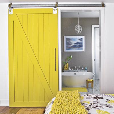 yellow-sliding-door-l - barn door