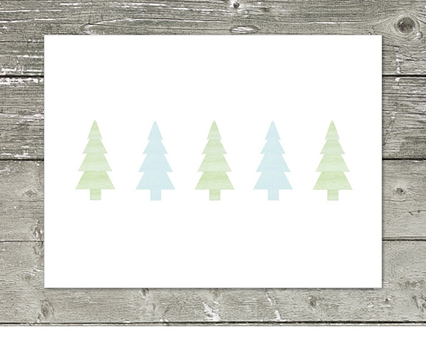 christmas gift card on weathered wood