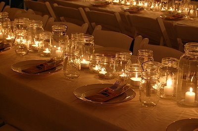 mason jar candles 1
