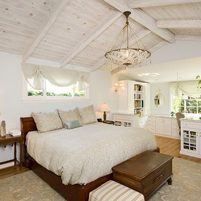 awesome chandelier in bedroom