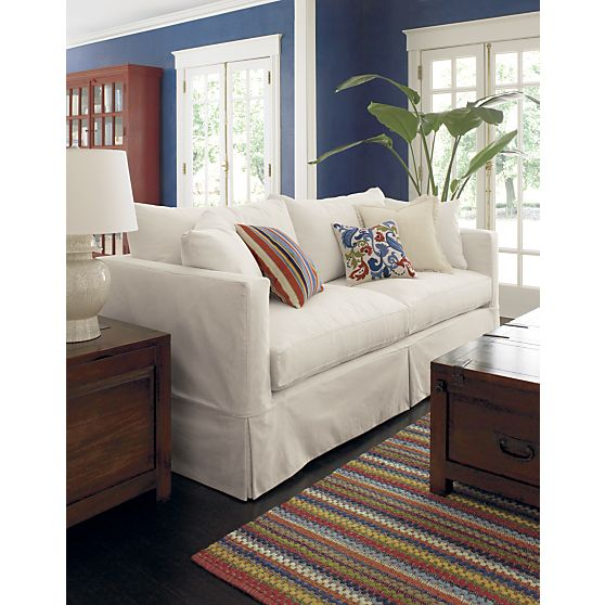crate and barrel willow sofa