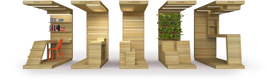 pop-up office furniture ideas