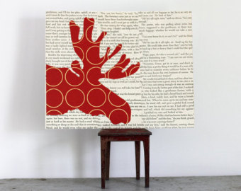 1 - moose head wall art