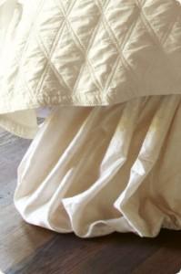 let it drag - bedskirt