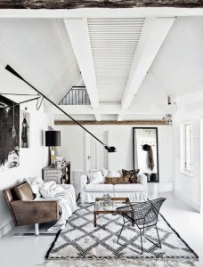 271 - modern and shabby living room