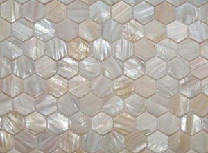 hexagon mother of pearl