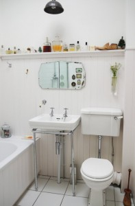 tiny bathroom solution