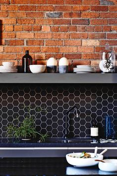 black hexagon with grey grout.jpg