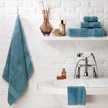Add colour with new fresh towels. Home Sense, Wal-Mart and Hudson's Bay have great inexpensive options.