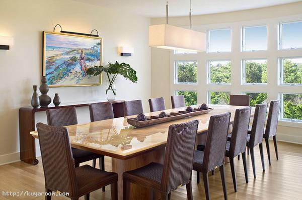 15 - 9 - formal dining table with long narrow centerpiece.jpg