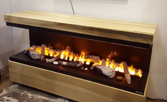 Nero Fire design by Dimplex - electric fireplaces with opti-myst for the illusion of real fire. Still love this one!