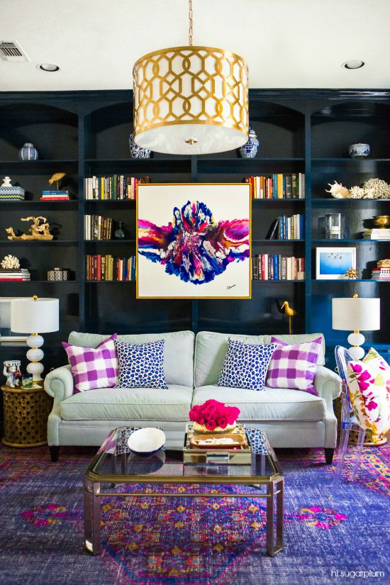 Add back some colour! Deep jewel tones are making a comeback.