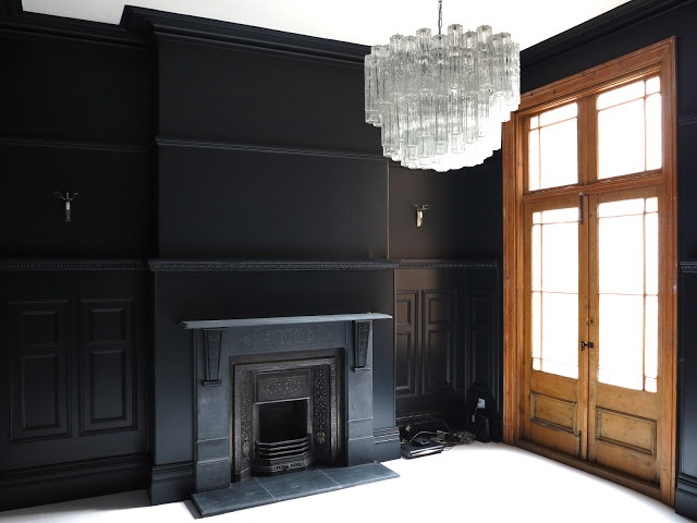Continue to paint out those mouldings the same as the walls - and maybe add a touch of natural wood too.