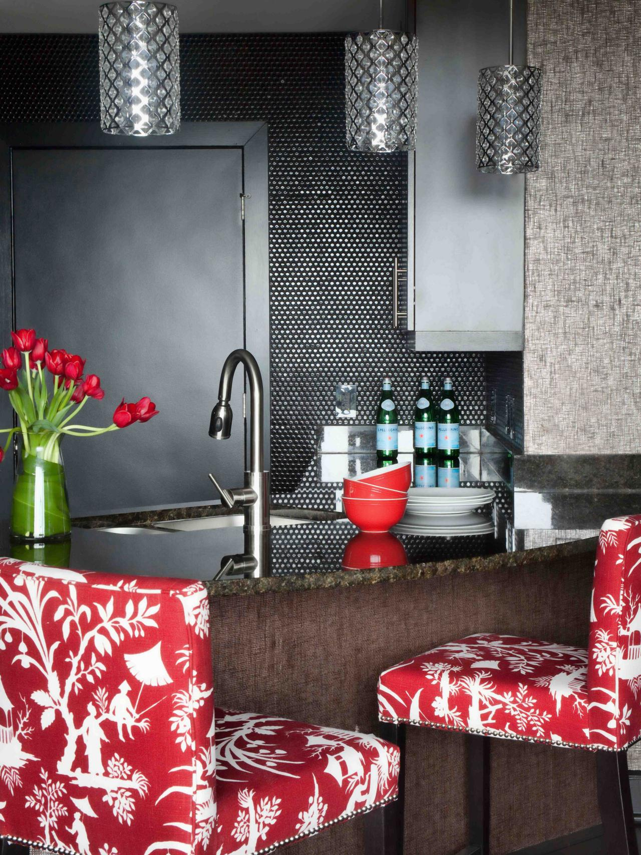 Add a touch of red and get bold with it!