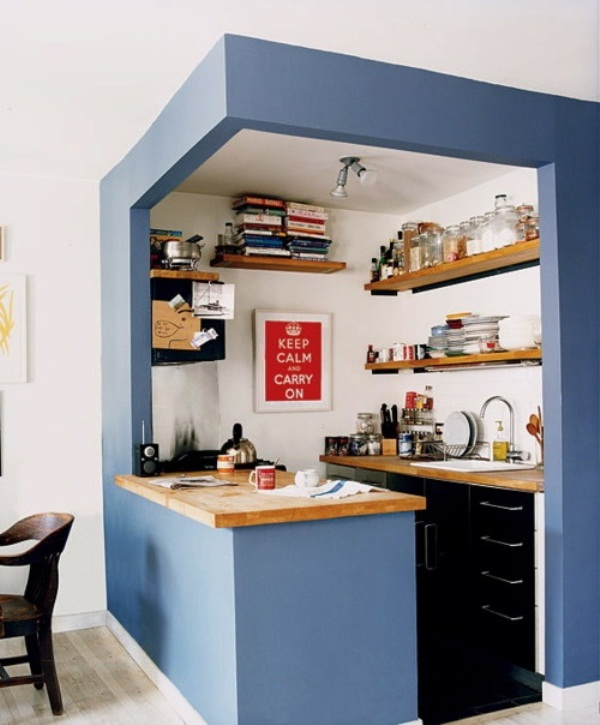 Small-Kitchen-Design-Blue-Color-Theme-Bar-Table.jpg