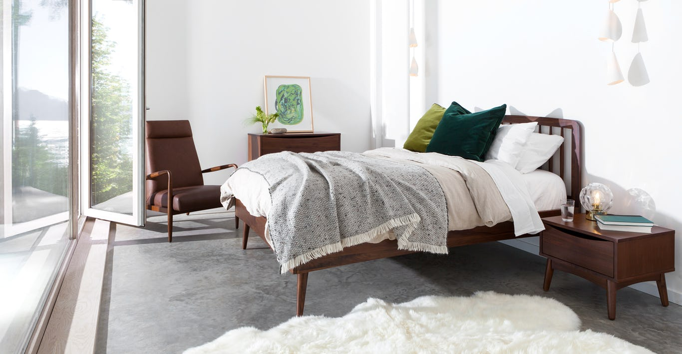 Article - The prices for their well curated furniture line are great, and the super detailed images help you feel like you can almost touch the items.